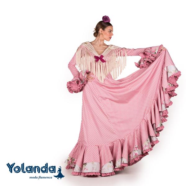 Traje Flamenca Camila - Yolanda Moda Flamenca