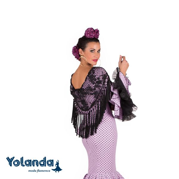 Traje Flamenca Soraya - Yolanda Moda Flamenca