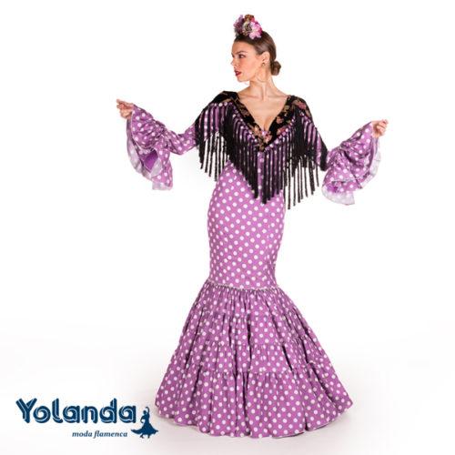 Traje Flamenca Paraiso - Yolanda Moda Flamenca