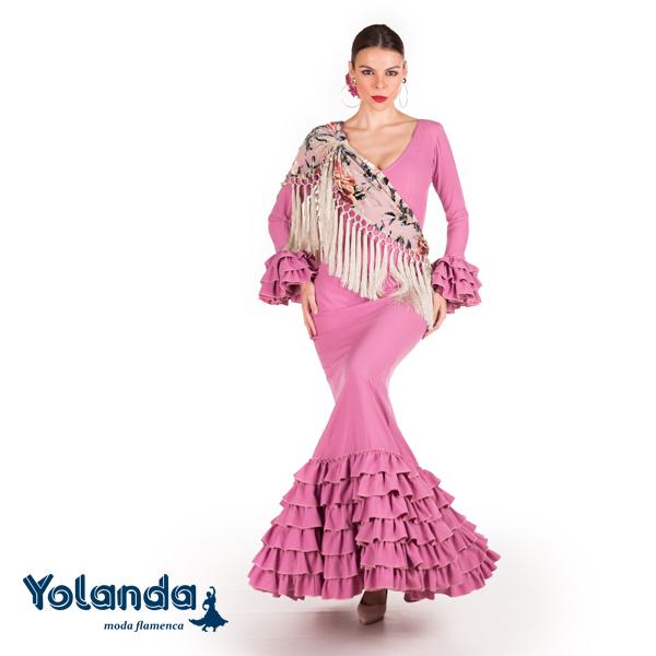 Traje Flamenca Eleonor - Yolanda Moda Flamenca