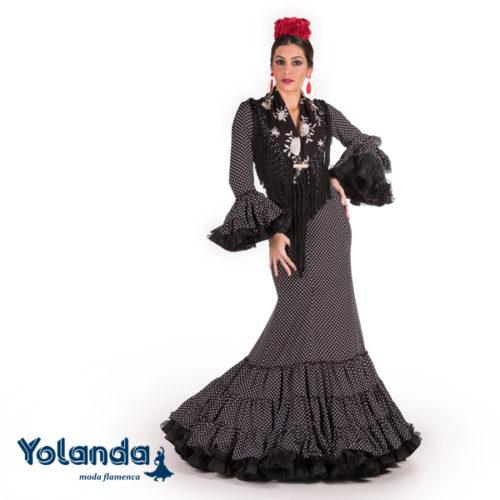 Traje Flamenca Leticia - Yolanda Moda Flamenca