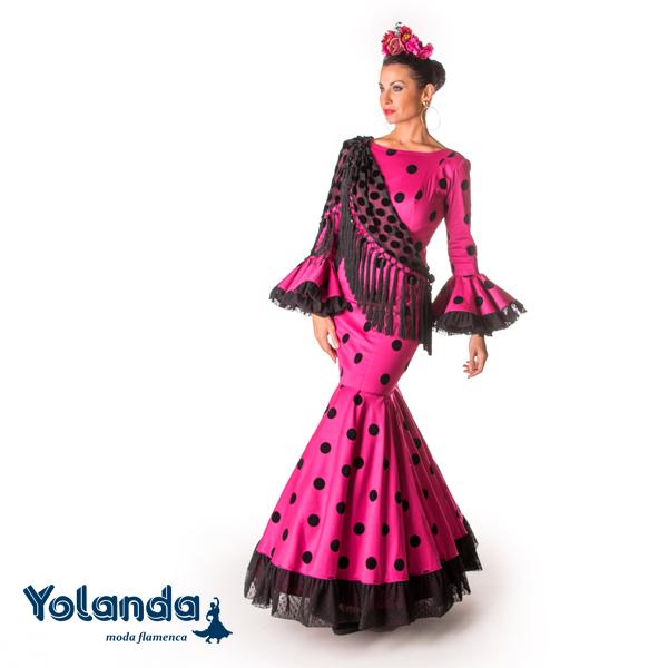 Traje Flamenca Yawei - Yolanda Moda Flamenca
