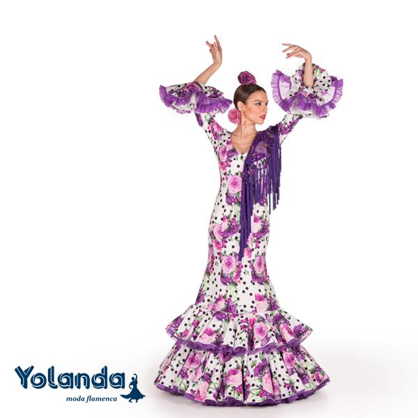 Traje Flamenca Elisabeth-Yolanda Moda Flamenca