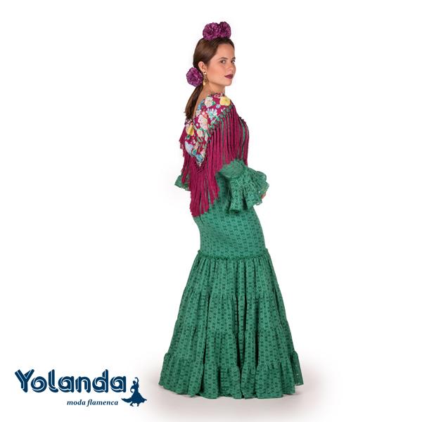 """Traje de Niña """"Clavel"""" - Yolanda Moda Flamenca"""