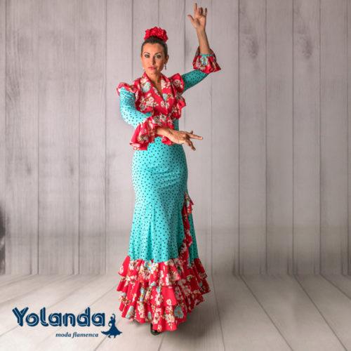 Conjunto Baile Sevillanas - Yolanda Moda Flamenca