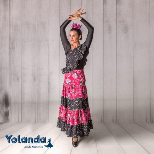 Falda Baile Martinete - Yolanda Moda Flamenca