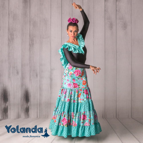 Falda Baile Boleras - Yolanda Moda Flamenca