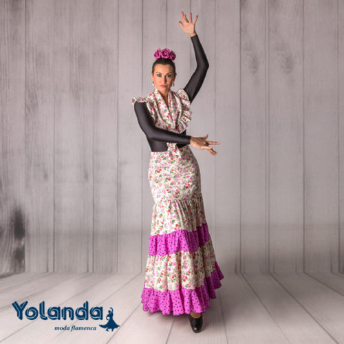 Falda Baile Alborea - Yolanda Moda Flamenca