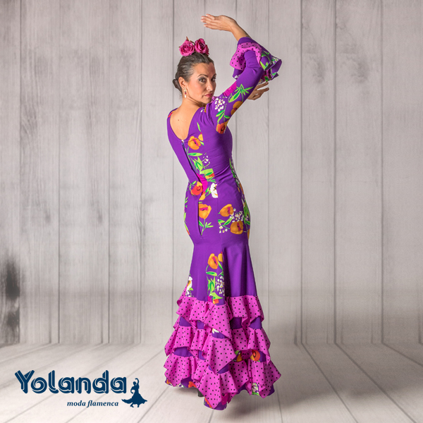 Vestido Baile Tarantos - Yolanda Moda Flamenca