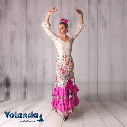 Vestido Baile Tanguillos - Yolanda Moda Flamenca